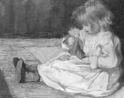La fillette à la poupée