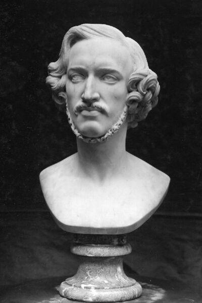 """Portrait d'Alexandre-Joseph Montagney, dit """"Artot """", violoniste belge [1815-1845]"""