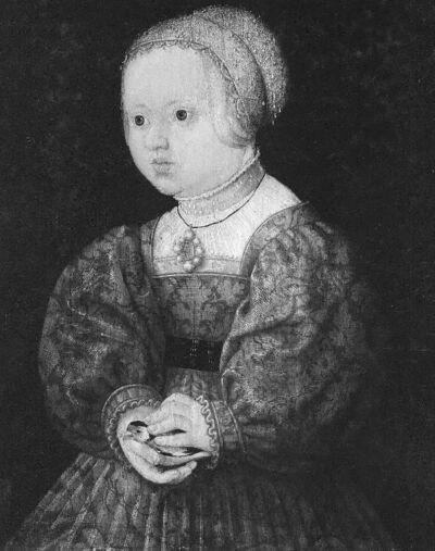 Kinderportretten : Maximiliaan II en Anna van Oostenrijk