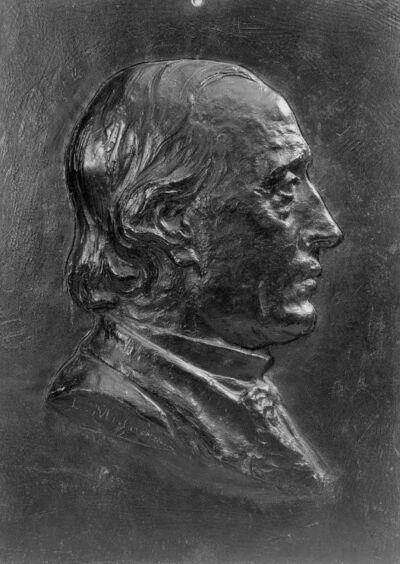 Portrait (tête) du père de l'artiste