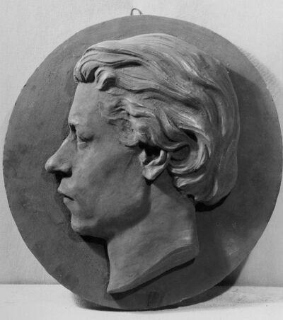 Médaillon (tête) de M.Zegen