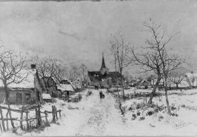 Hiver en Brabant
