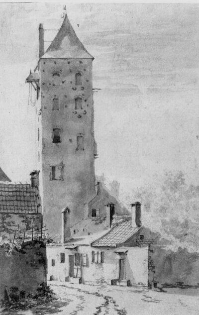 Image from object titled Vierkante toren (donjon)