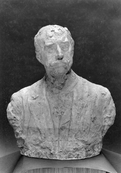 Portrait en buste de Charles Léon Cardon, peintre et collectionneur (1850-1920)