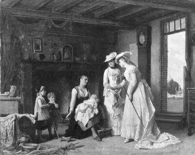 La visite à la veuve