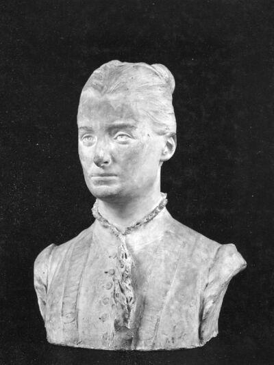 Portrait d'Anna Boch, artiste-peintre (1848-1933)