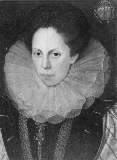 Portret van Anna Anchement