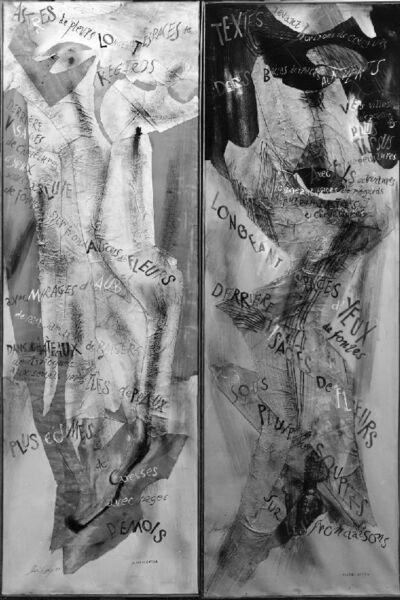 Collage et texte de Michel Butor