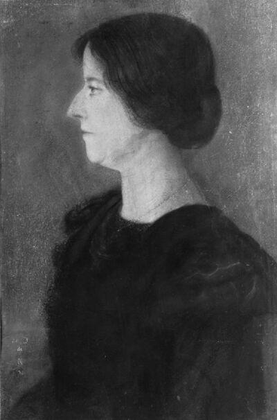 Portrait de Marthe Verhaeren-Massin