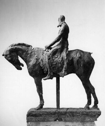 Projet pour la statue équestre du roi Léopold II