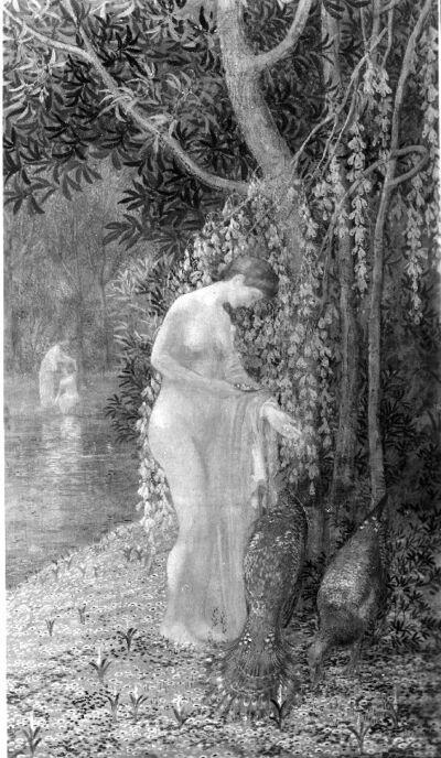 La femme aux paons