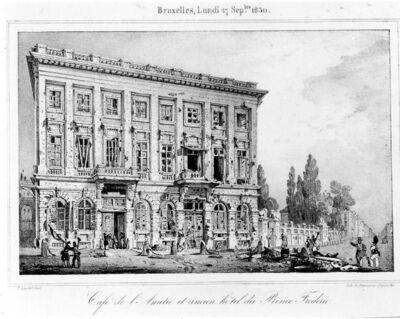 Café de l'Amitié et ancien hôtel du Prince Frédéric