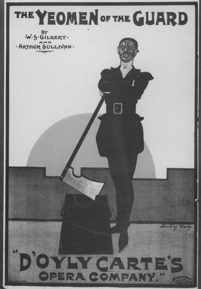 The Yeomen of the Guard by W.S. Gilbert and Arthur Sullivan, D'Oyly Carte's Opera Company