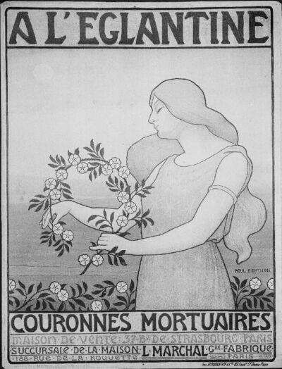 A l'Eglantine, Couronnes Mortuaires, Paris