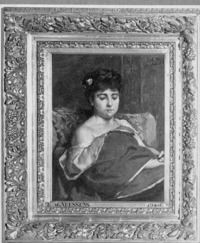 Portret van Diana Vernon