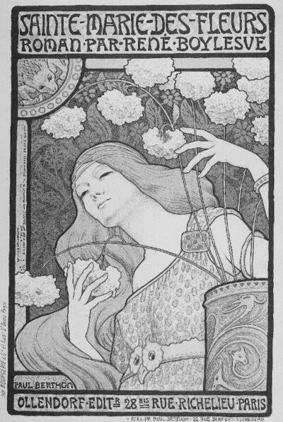 Sainte-Marie-des-Fleurs, roman par René Boylesve