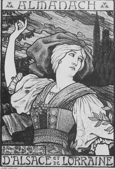 Almanach, d'Alsace et de Lorraine