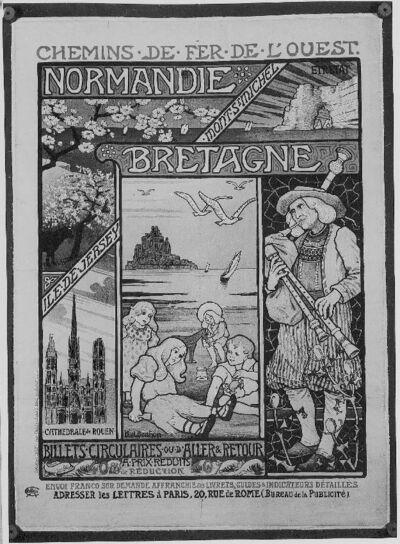 Chemins de fer de l'ouest, Normandie-Bretagne