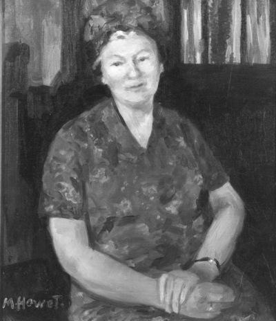 Portrait de Marie Mauquoy-Hendrickx