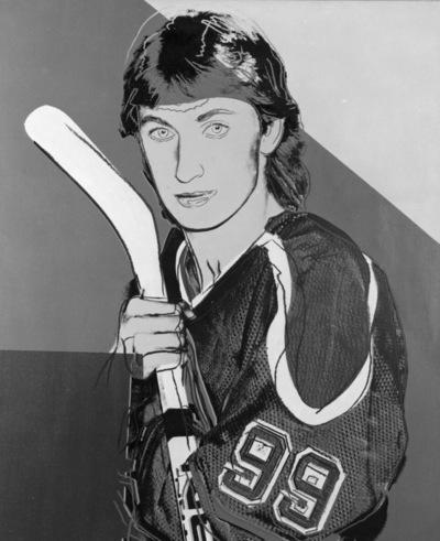 Portret of Wayne Gretzky