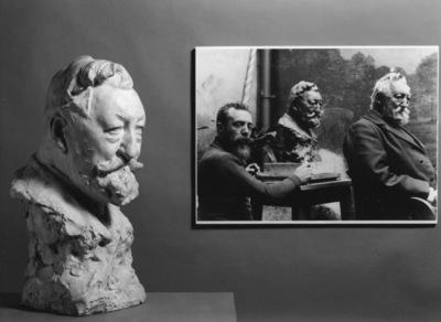Borstbeeld van Ferdinand Callebert