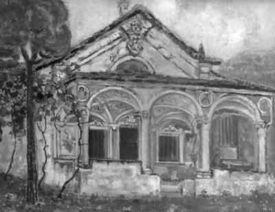 Chapelle à Gordola (Lac Majeur)