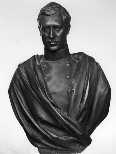 Portrait en buste du roi Albert I (1875-1934)