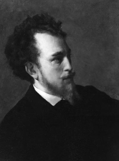 Portret van Edouard Agneessens