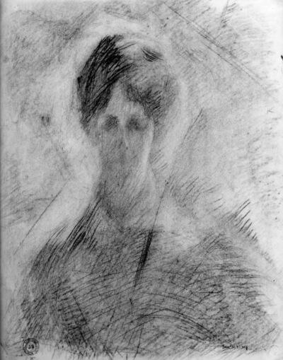Portret van mevrouw Nelly Hurrelbrinck