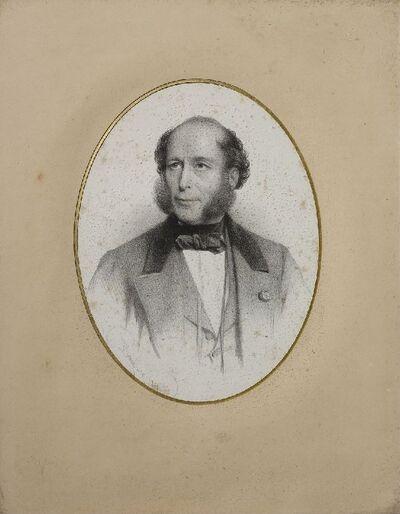 Portrait de Monsieur Basile Parent, donateur pour l'église Saint-Basile