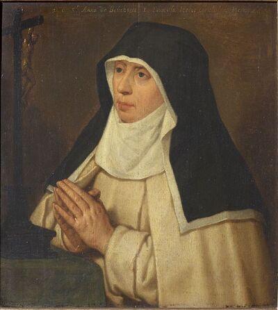 Portret van priorin Anna de Bouchaut, Besloten Hof Herentals