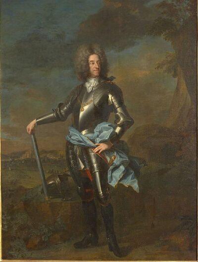 Portrait de Maximilien-Emmanuel de Bavière, Electeur, comte de Namur