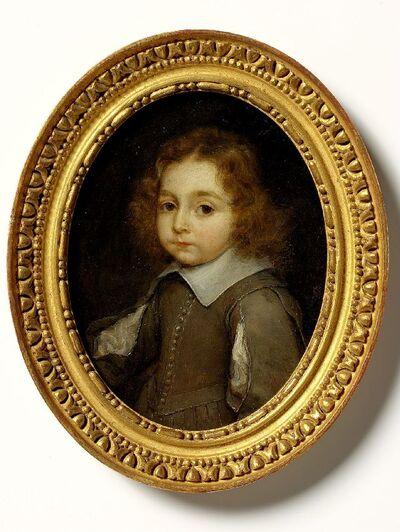 Portret van een knaap