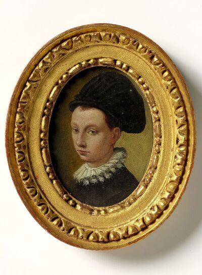 Portretbuste van een jongeling