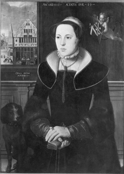 Portret van Jacquemyne Buuck