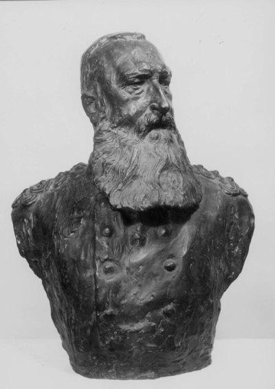 Borstbeeld van Z. M. Koning Leopold II