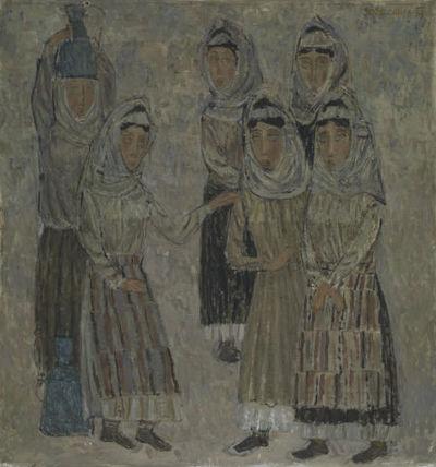 Žene ob vodnjaku