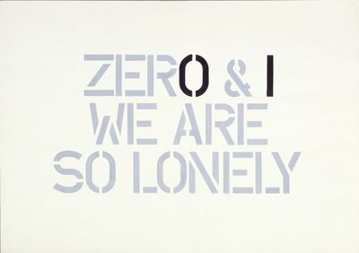 Zero & I we are so lonely