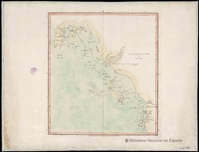 Chart from Jan Sylan to Queda [Material cartográfico]