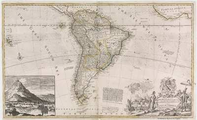 To the Right Honourable Charles Earl of Sunderland and Baron Spencer of Wormleighton, One of Her Majesty's Principal Secretaries of State &c. This Map of South America [Material cartográfico]