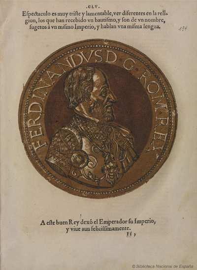 [Retrato de Fernando I, Emperador de Sacro Imperio Romano Germánico [Material gráfico]