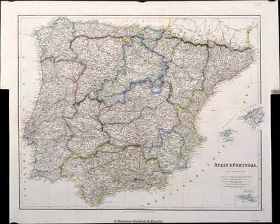 Spain & Portugal [Material cartográfico]