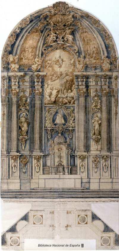 [Proyecto para un retablo de la Transfiguración] [Material gráfico]