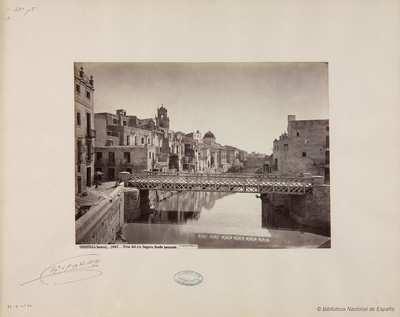 Orihuela (Murcia) [sic], vista del rio Segura desde poniente. [Material gráfico]
