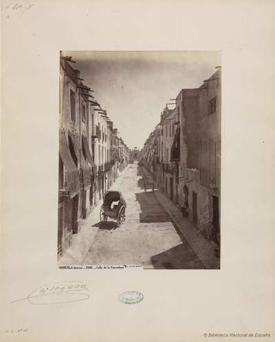 Orihuela (Murcia) [sic], calle de la Corredera. [Material gráfico]