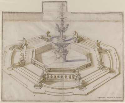 [Proyecto de la fuente de Orión, Messina] [Material gráfico]