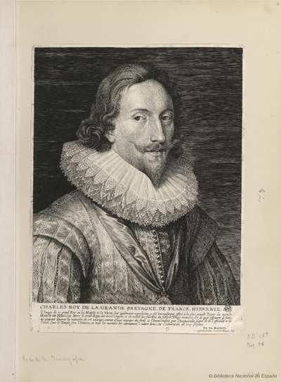 [Retrato de Carlos I, Rey de Inglaterra] [Material gráfico]