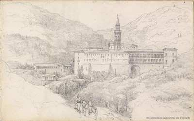 [Convento de san Jerónimo cerca de Barcelona]