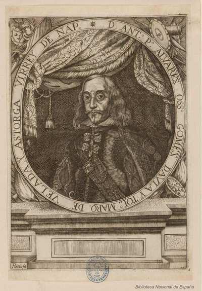 [Retrato de Antonio Pedro Álvarez Osorio] [Material gráfico]