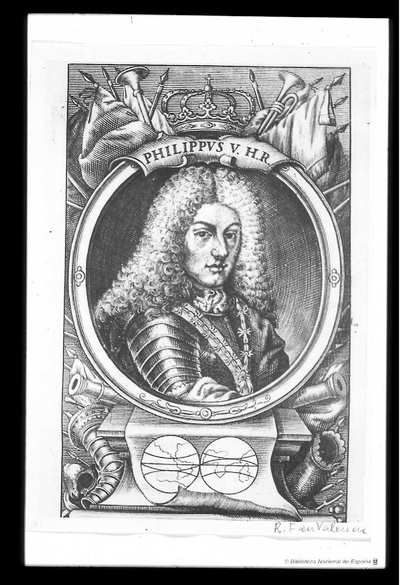 [Retrato de Felipe V, Rey de España] [Material gráfico]
